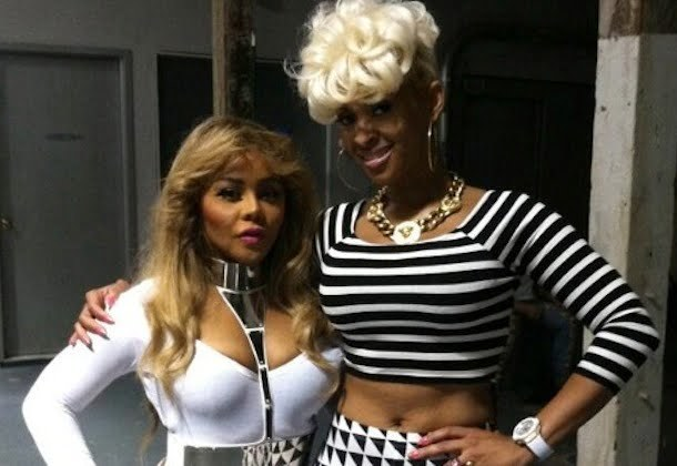 Lil Kim and Tiffany BET Cypher 2013