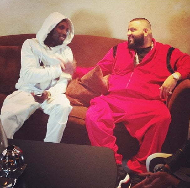 Mavado and DJ Khaled