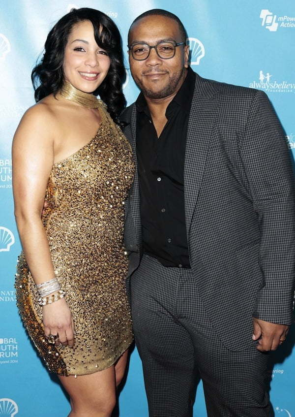Monique Mosley and Timbaland