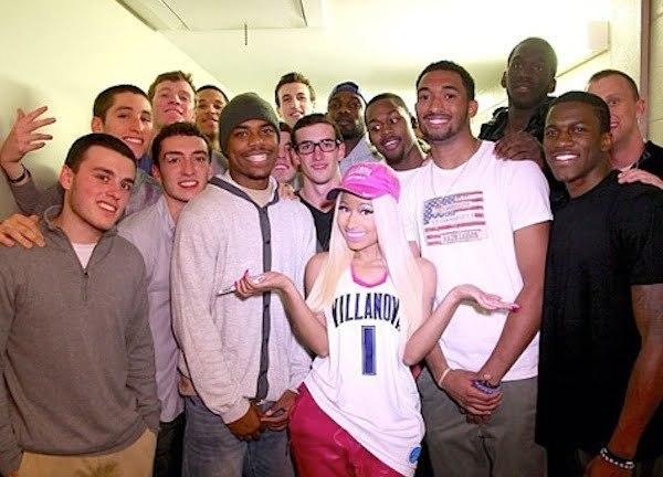 Nicki Minaj at Villanova
