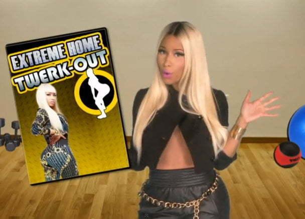 Nicki Minaj extreme twerkout dvd