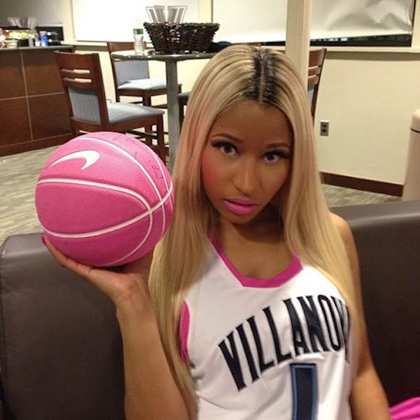 Nicki Minaj pink basketball