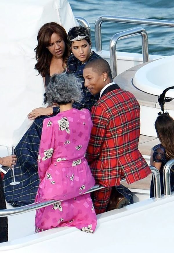 Pharrell and Helen Lasichanh wedding