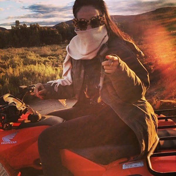 Rihanna South Africa adventure