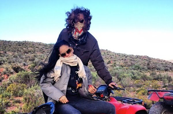 Rihanna and Melissa Forde south Africa