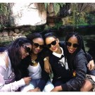 Rihanna and her cousins