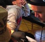 Rihanna getting new tattoo