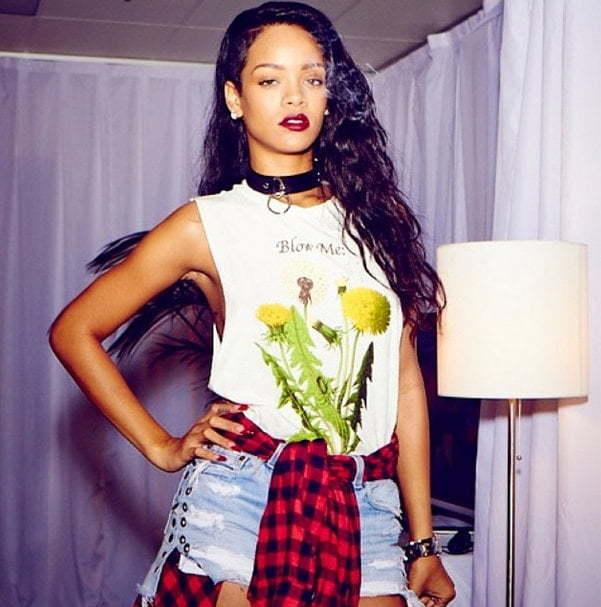 Rihanna instagram 22