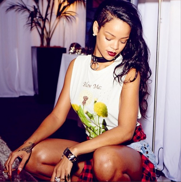 Rihanna News And Photos: Rihanna's 25 Baddest Instagram Photos Of 2013