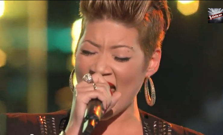 Tessanne Chin The Voice battle