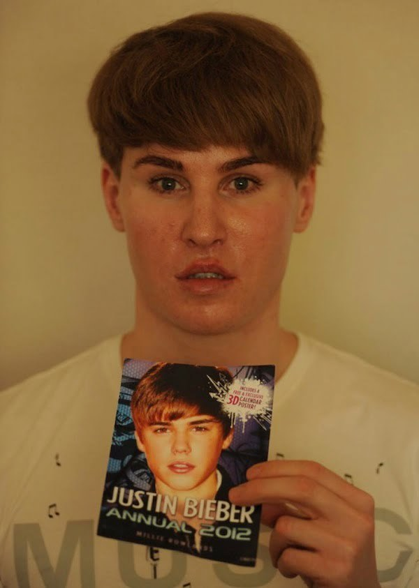 Toby Sheldon justin bieber look-a-like