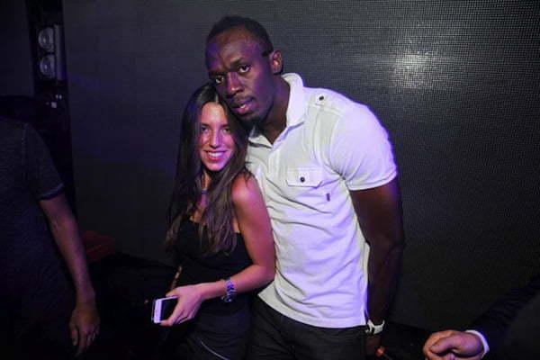 Usain Bolt girl