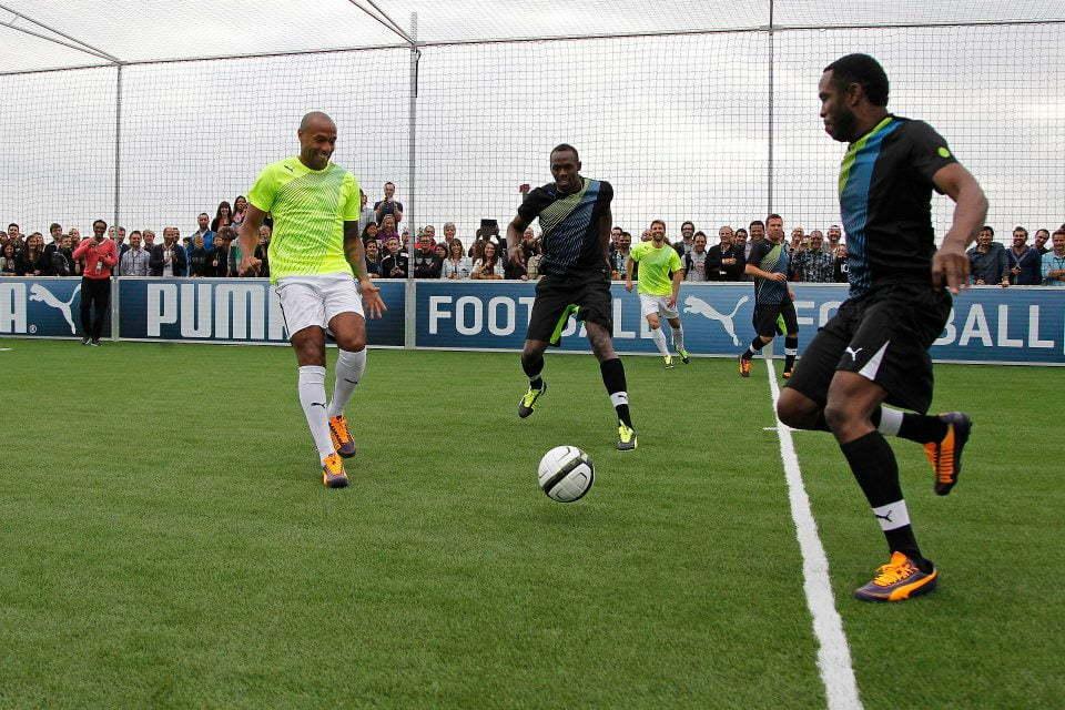 Usain Bolt soccer 1