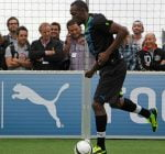 Usain Bolt soccer