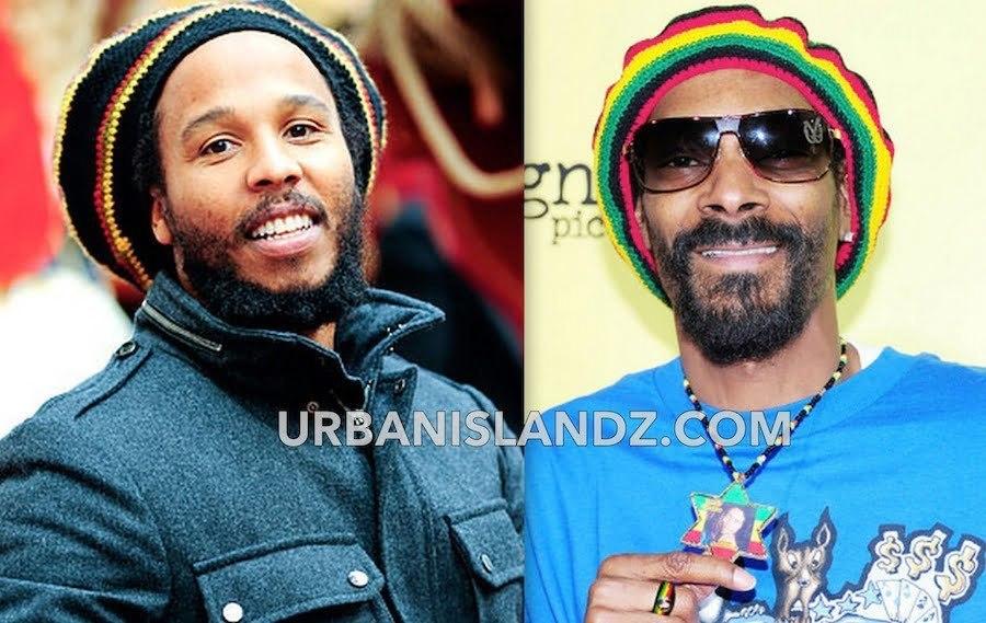 Ziggy Marley and Snoop lion
