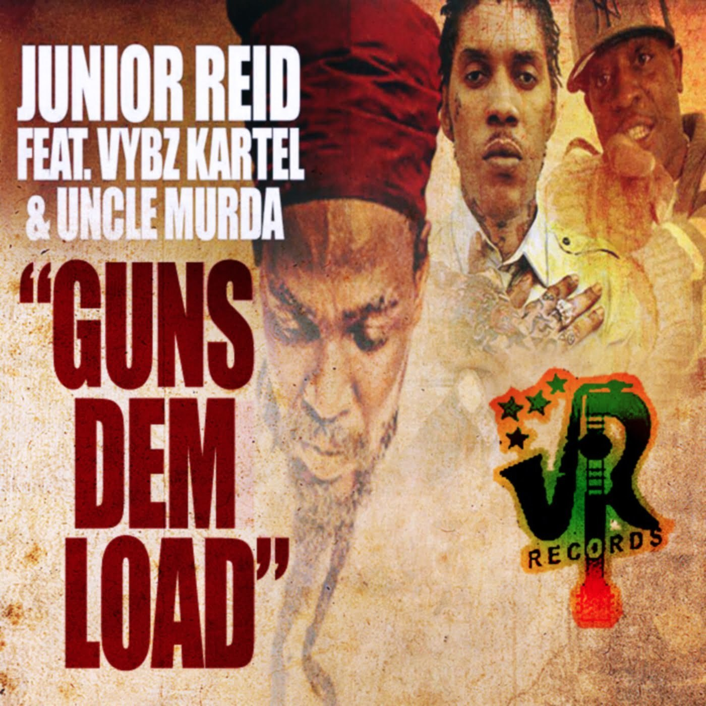 junior reid vybz kartel guns load cover