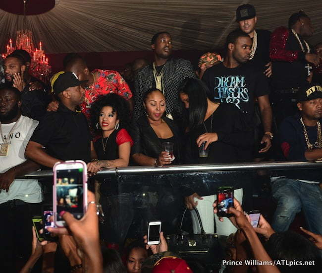 keyshia cole at jeezy bday party