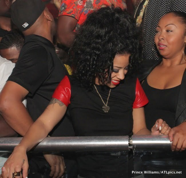 keyshia cole at jeezy party