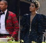 pharrell and Helen Lasichanh got married