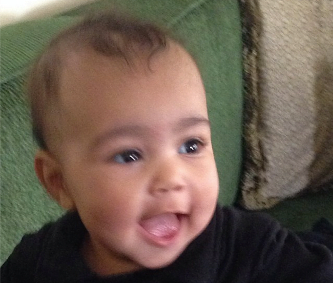 Baby North West photo