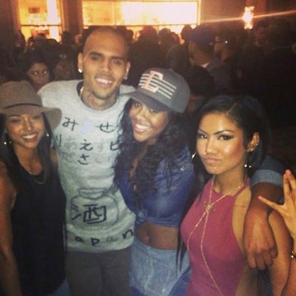 Chris Brown Karrueche jhene aiko