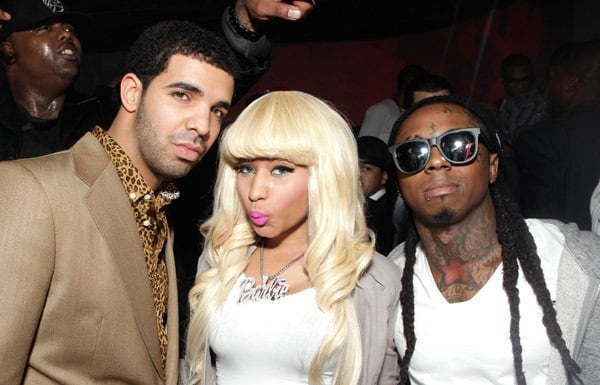 Drake Nicki Minaj and Lil Wayne