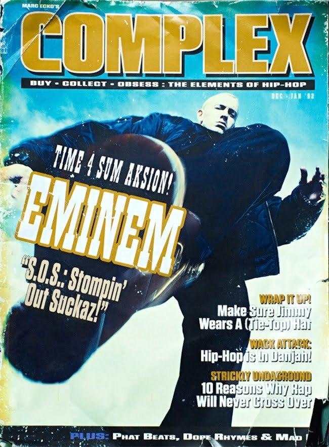 Eminem Complex Cover 2