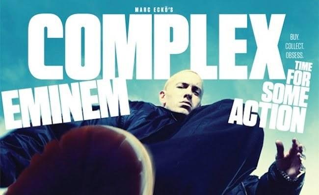 Eminem complex cover 1