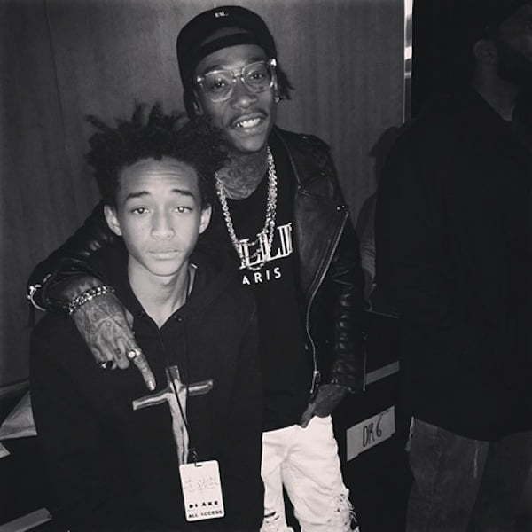 Jaden Smith and Wiz Khalifa
