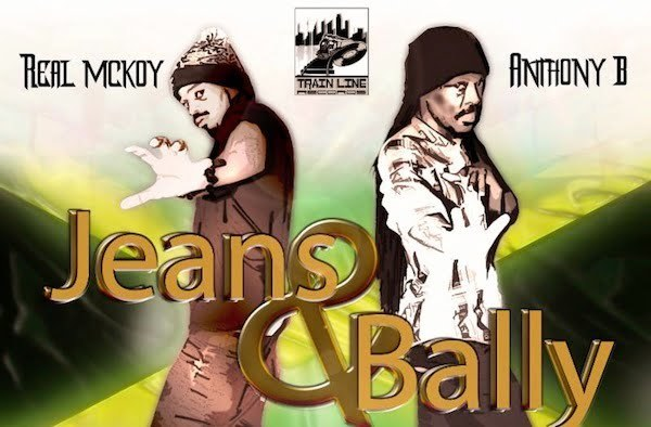 Jeans and Bally artwork