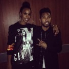 Kelly Rowland and Miguel