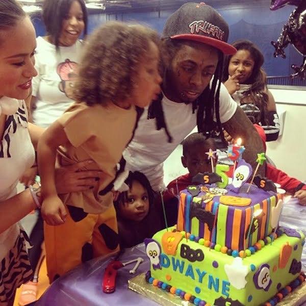 Lil Wayne son dwayne