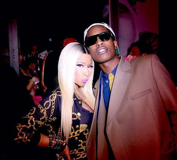 Nicki Minaj ASAP Rocky