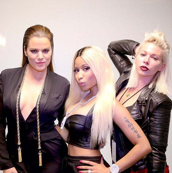 Nicki Minaj and Khloe Kardashian