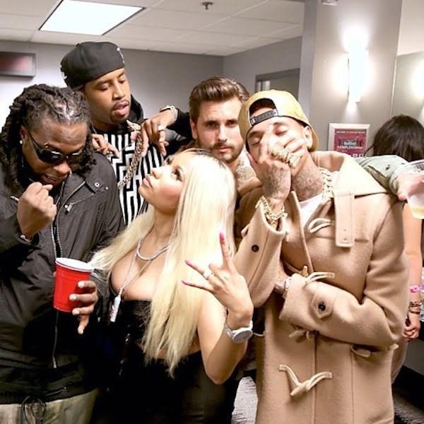Nicki Minaj tyga and SB