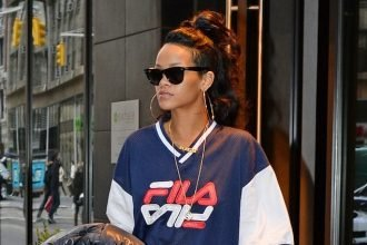 Rihanna Rocked Her FILA And Timberlands In NYC [PHOTO]
