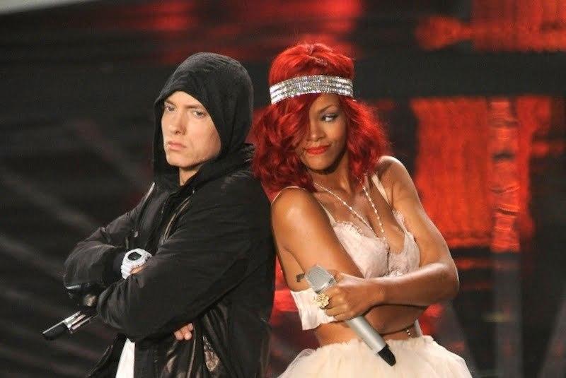 Rihanna and Eminem photo