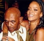 Rihanna grandfather birthday bash 1