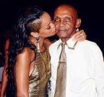 Rihanna grandfather birthday bash