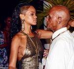 Rihanna grandfather birthday bash 2