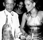 Rihanna grandfather birthday bash 5