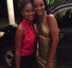 Rihanna grandfather birthday bash 7