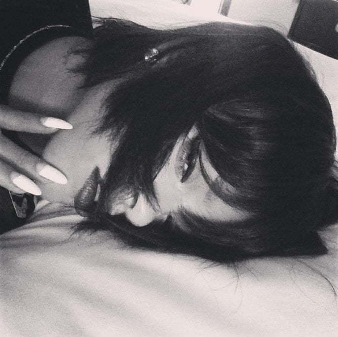Rihanna hairstyle pic