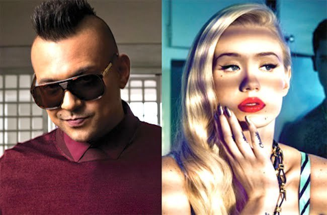 Sean Paul and Iggy Azalea