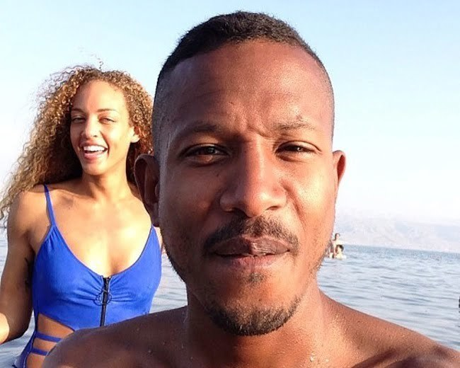Shyne and his wife