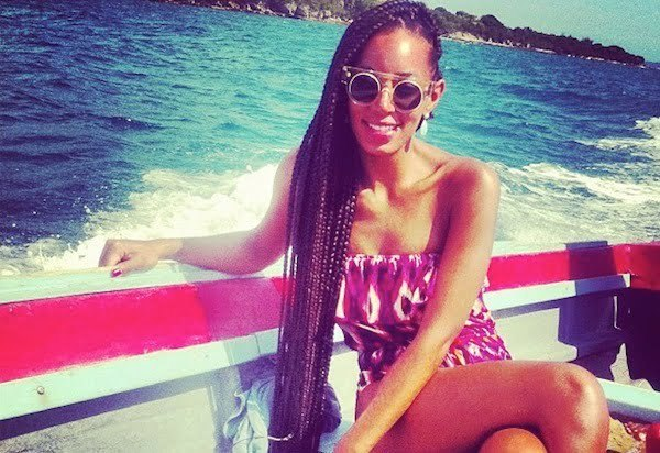 Solange Knowles in Jamaica