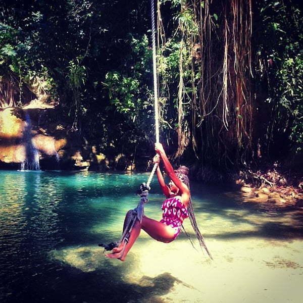 Solange in Jamaica