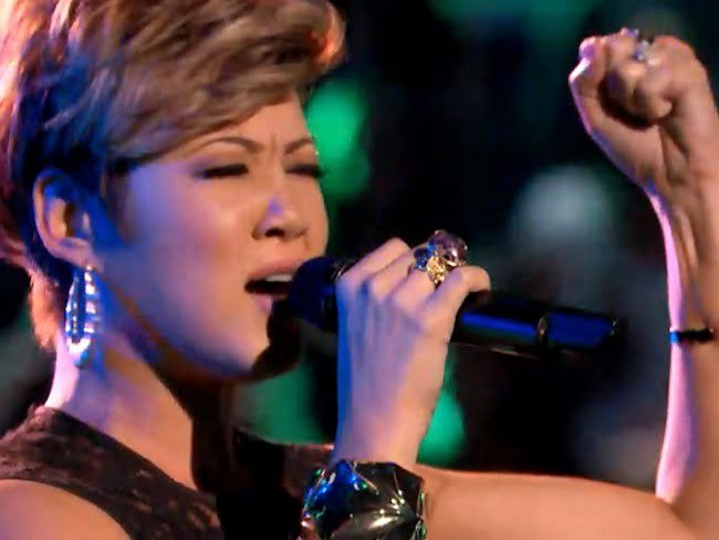 Tessanne Chin Advance To The Top10 On The Voice Season 5