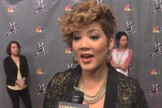 "Tessanne Chin Talks Performing ""My Kind Of Love"" For Her Husband [VIDEO]"