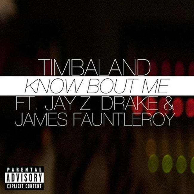 Timbaland Know Bout Me artwork